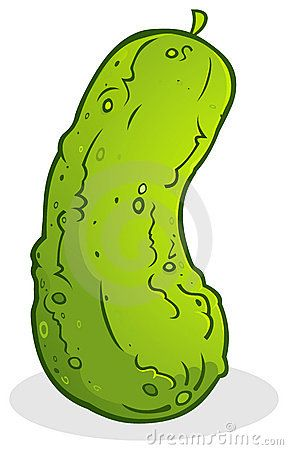 Clip art christmas cucumber. Pickle clipart