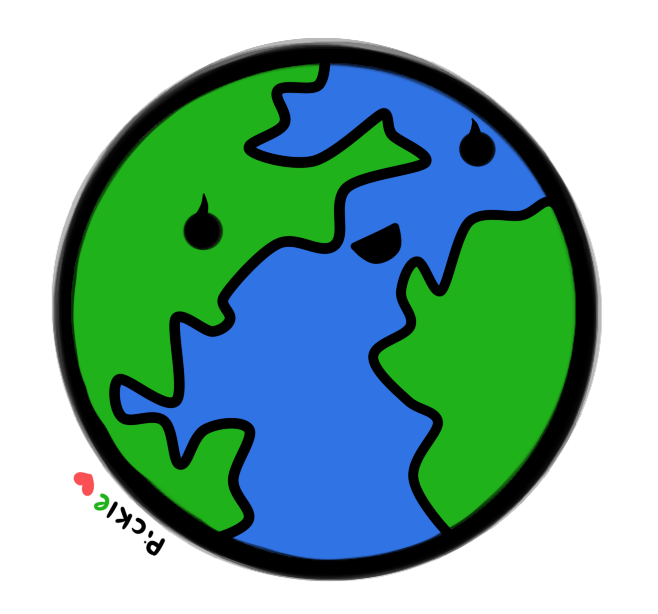 Earth by pickleddegg on. Planet clipart kawaii