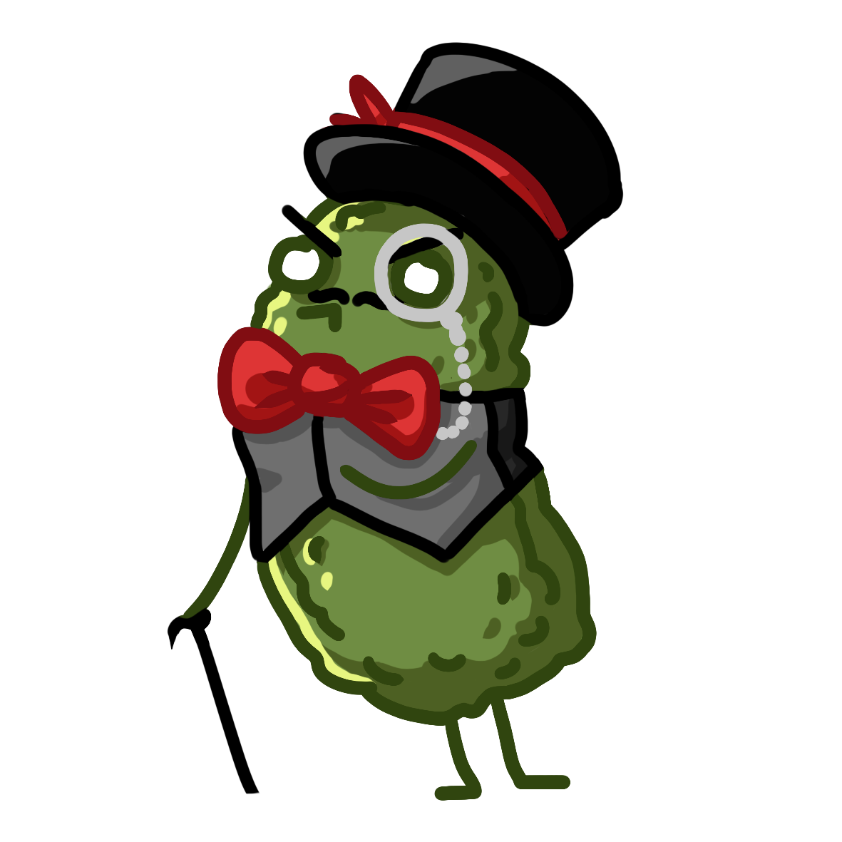 Pickle clipart pixel art. Image mr png drawfee