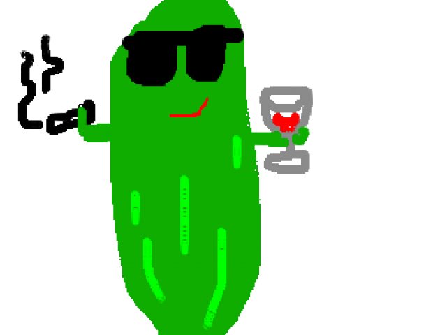 Pickle clipart svg.  cucumber spear huge