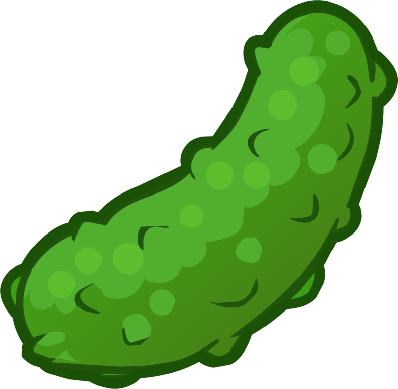 Pickles clipart sliced. Image pickle png club