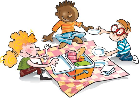 Picnic clipart. Family free images clipartix