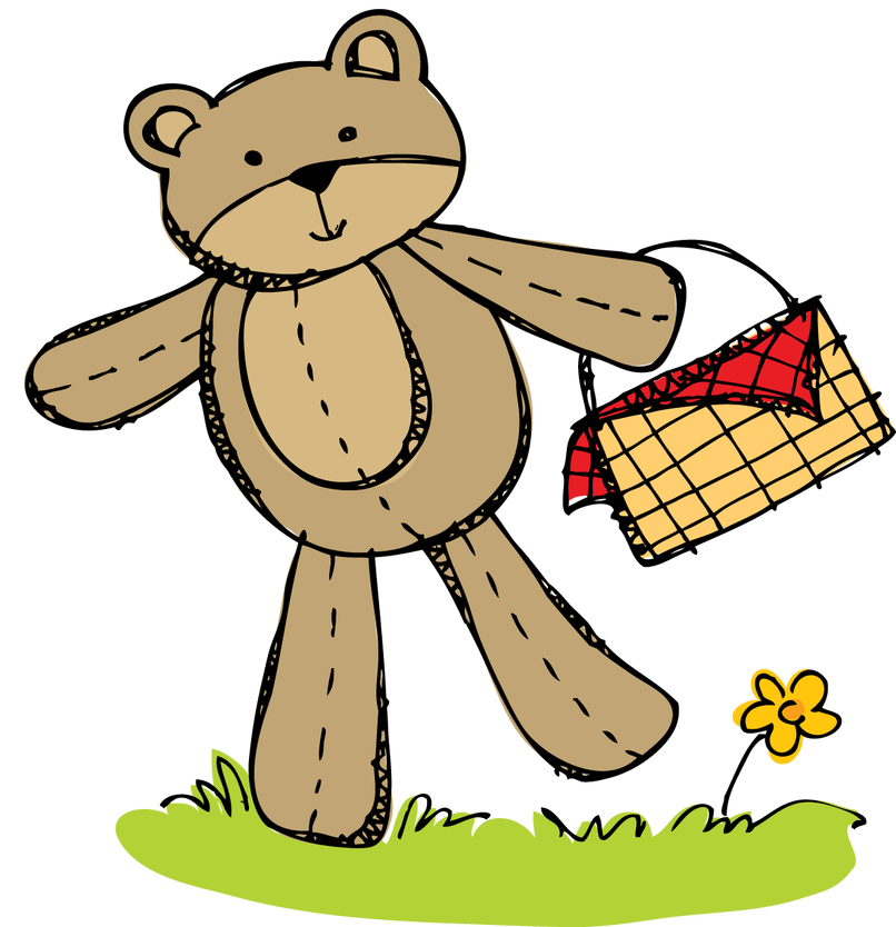 Teddy bear day animaxwallpaper. Picnic clipart june
