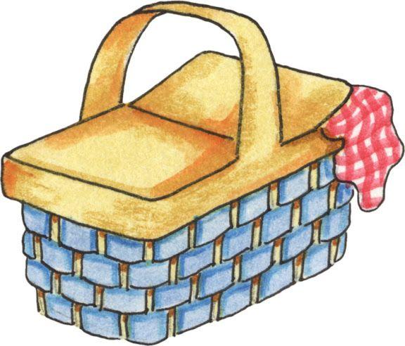 Picnic clipart picnic basket. Summer free download best