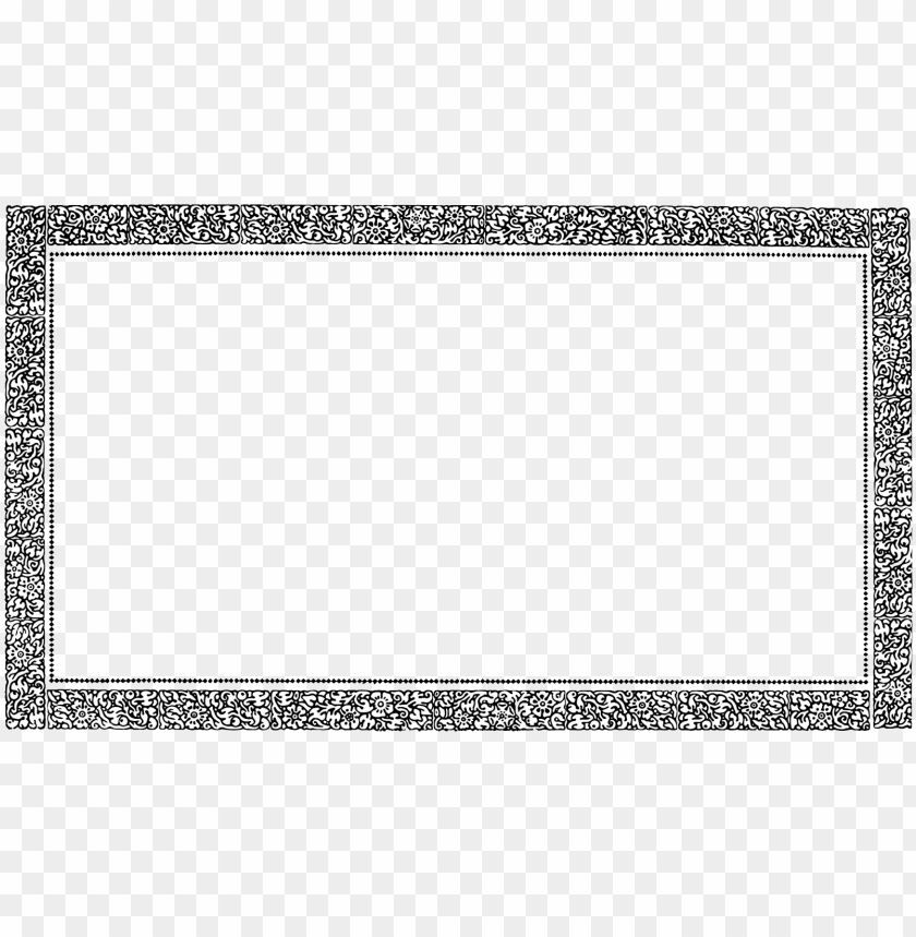 Picture border png. Vintage frame pic free
