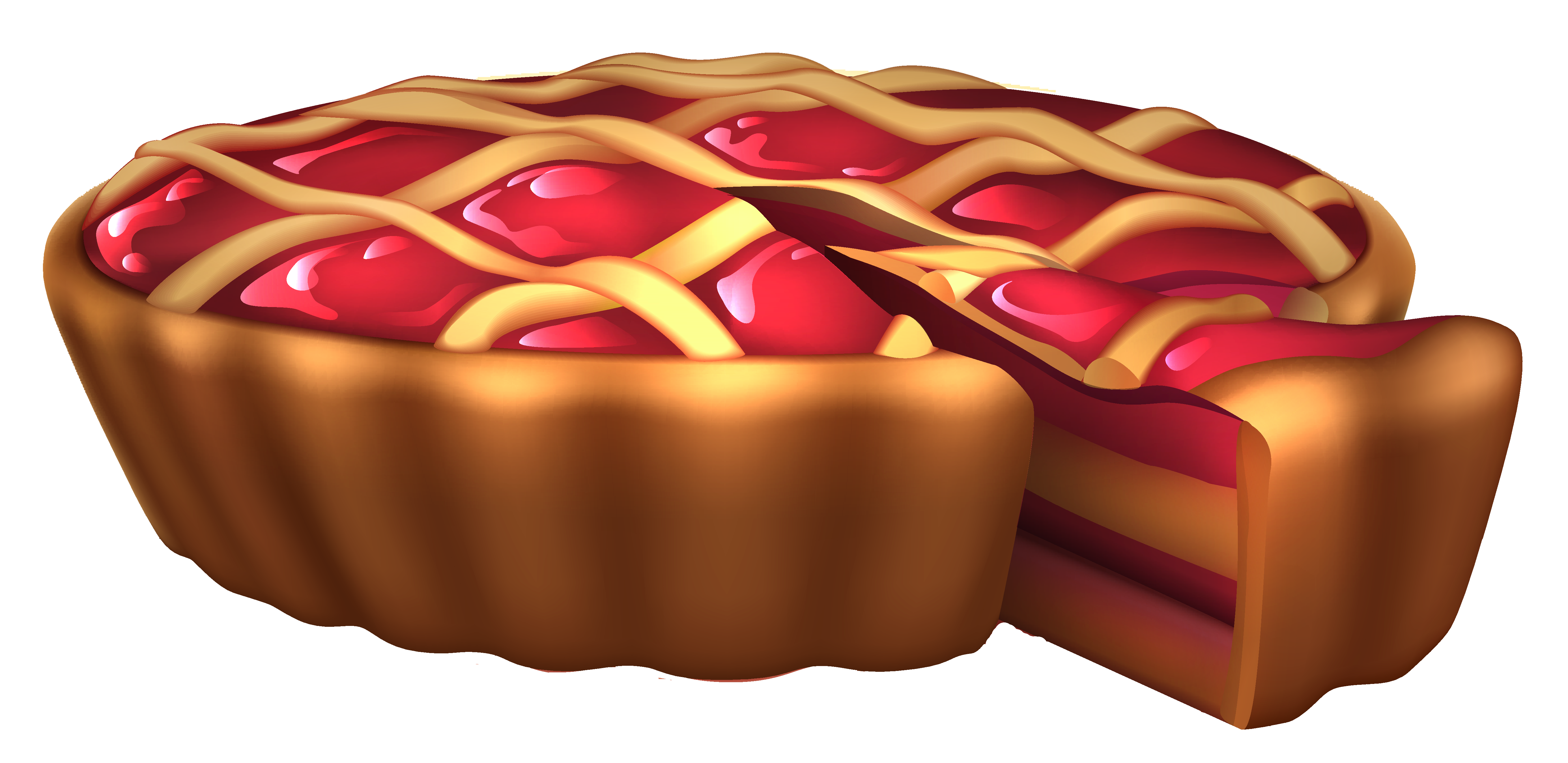 Cherry png picture gallery. Pie clipart