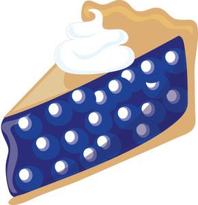 Image panda free . Pie clipart blueberry pie