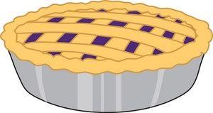 Pie clipart blueberry pie. Cartoon art surface design