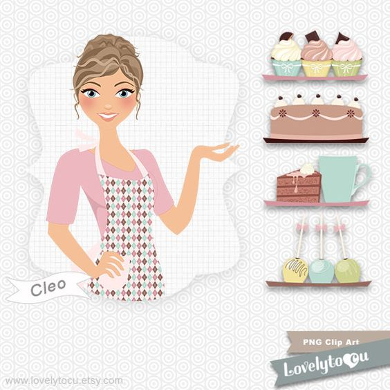 Free cliparts download clip. Pie clipart girl baker