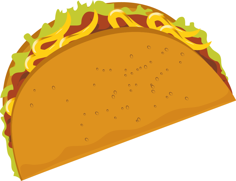 Taco images collection pie. Tacos clipart crunchy