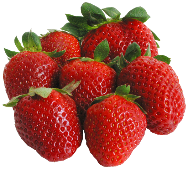 Large PNG Strawberries Clipart