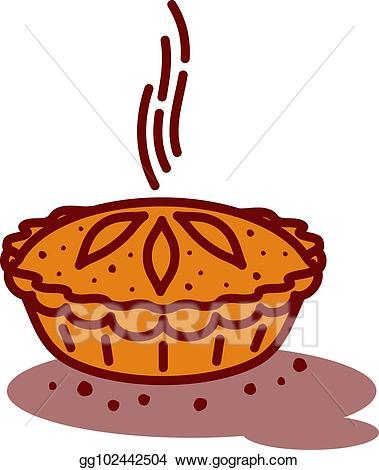 pie clipart tasty food