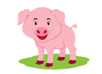 Pigs clipart. Free pig clip art