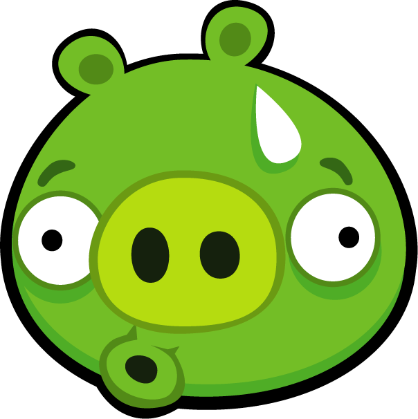 The bad piggies a. Pigs clipart angry bird