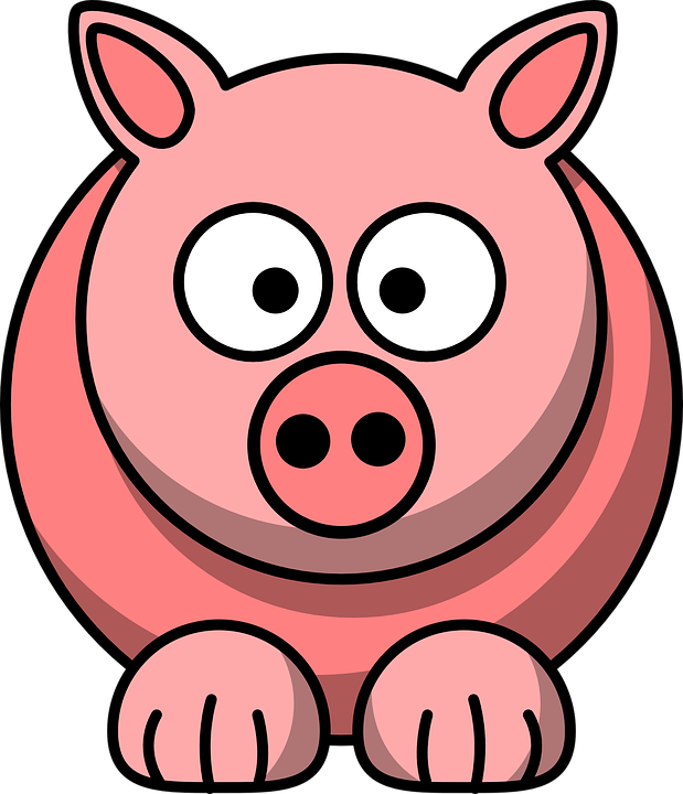 Pig Clipart Animated, Pig Animated Transparent FREE For