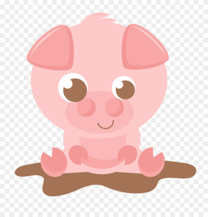 Pig clipart baby pig. Pink silhouette at getdrawings