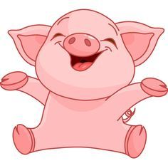 Image result for pigs. Pig clipart baby pig