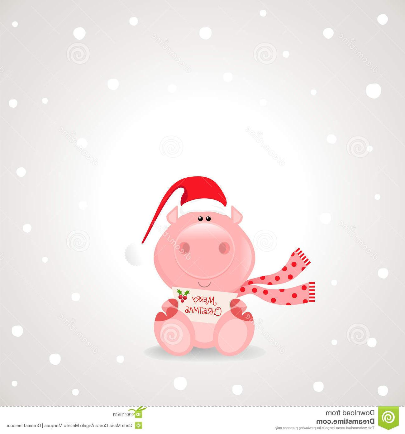 Pig clipart christmas. Unique clip art library