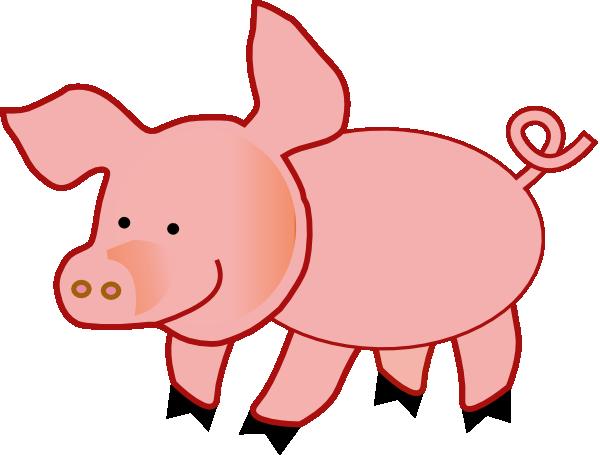 Clip art paper crafting. Pig clipart fetal pig