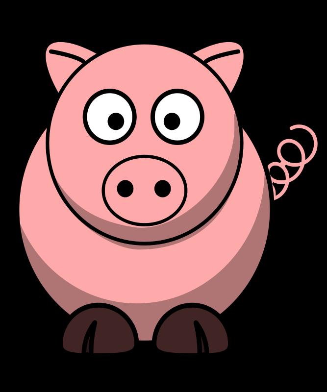 Pig clipart muscular. Cartoon pigs pics group