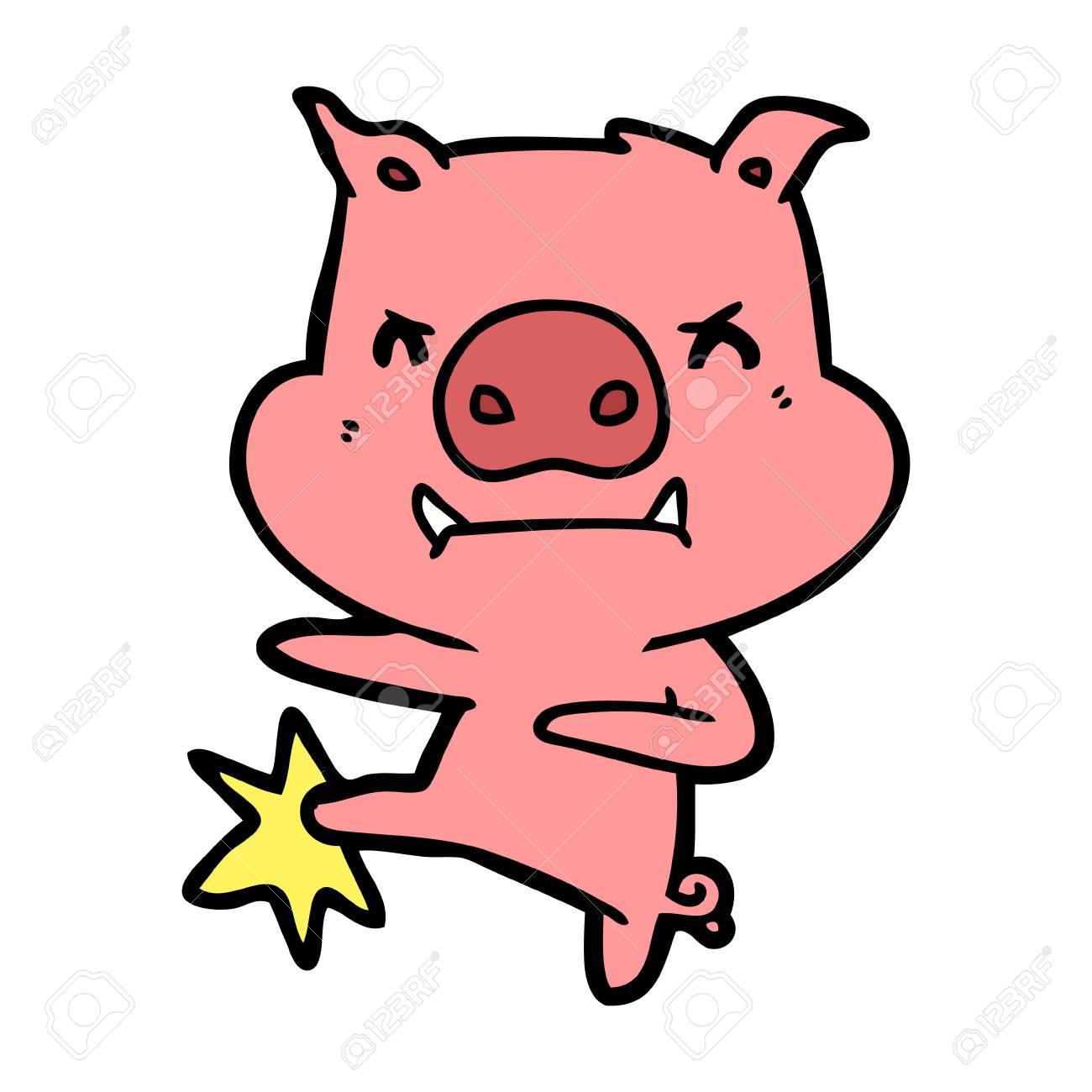 Pig clipart six. Free download clip art