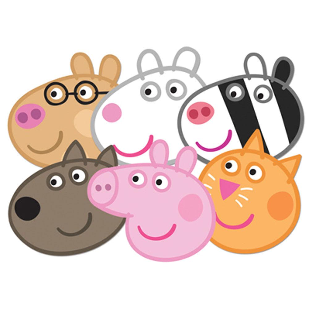 Peppa vector library clip. Pig clipart six