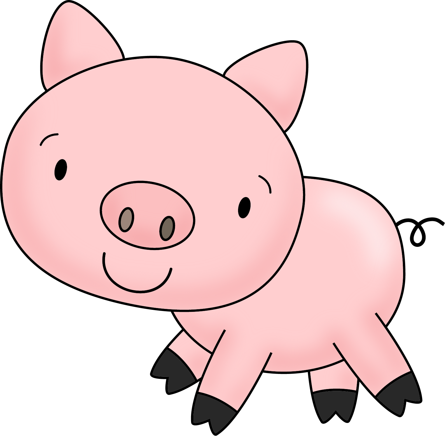 Pig clipart summer. Charlotte s web vocabulary