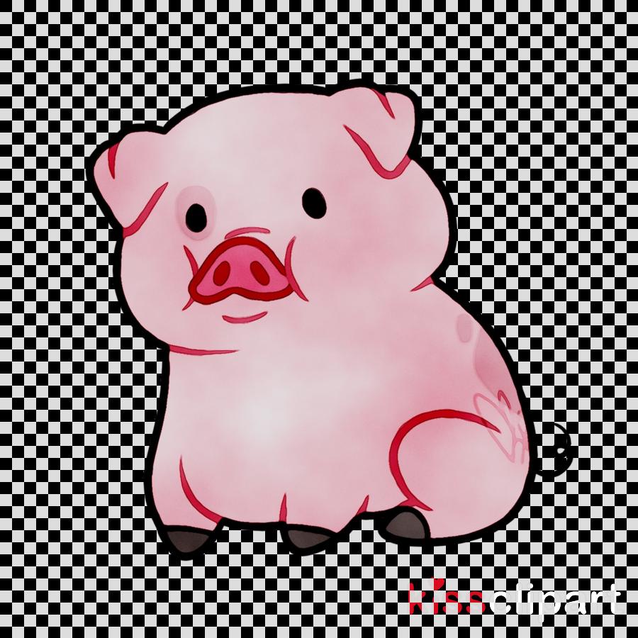 Pig clipart teacher. Background pink cartoon transparent