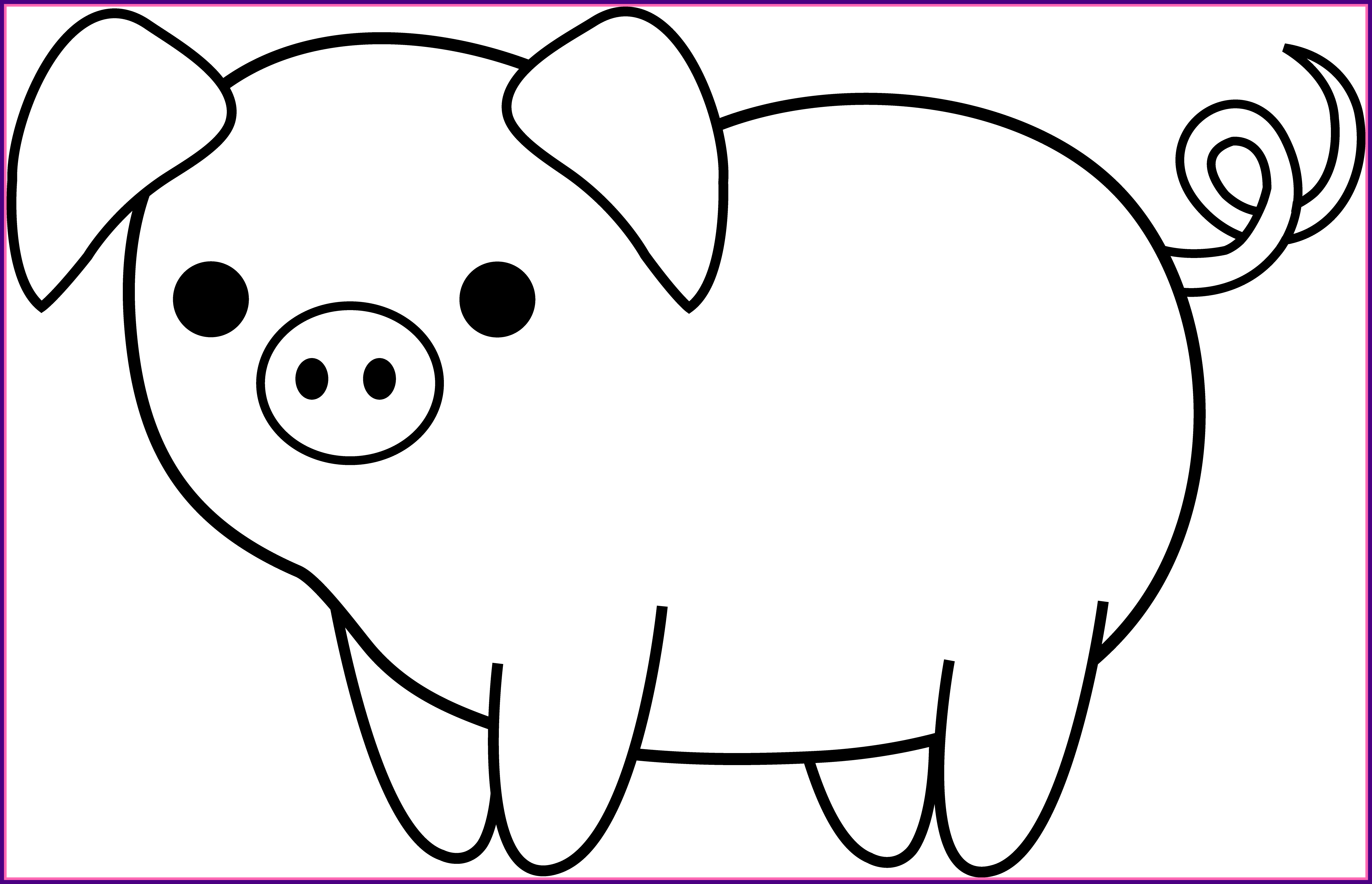 Pig clipart template. Dorable face pattern entry
