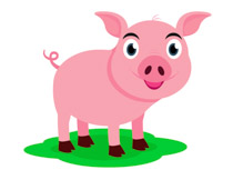 Clipart pig. Free clip art pictures