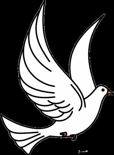 Pigeon clipart burung. Christian clip art pigeons