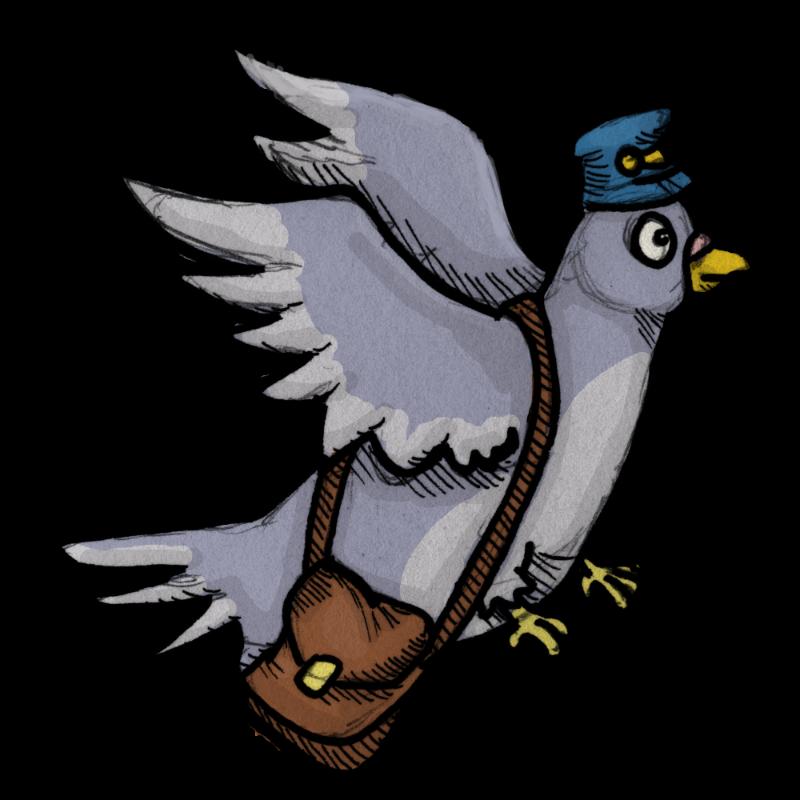 Atomic munki corporation it. Pigeon clipart carrier pigeon