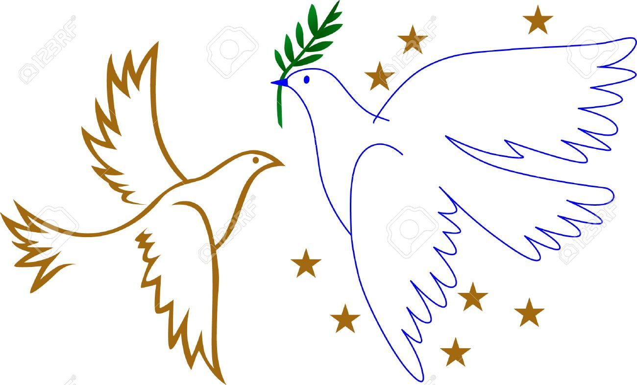 Peace dove xmas x. Pigeon clipart christmas
