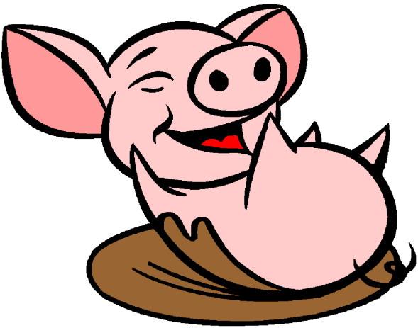 Pigs clipart. Clip art farm picgifs