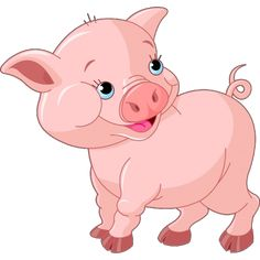 Free pig clip art. Pigs clipart