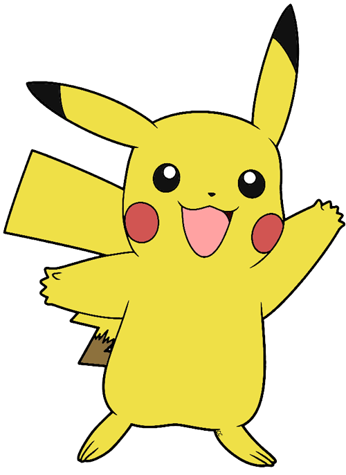 collection of pokemon. Pikachu clipart