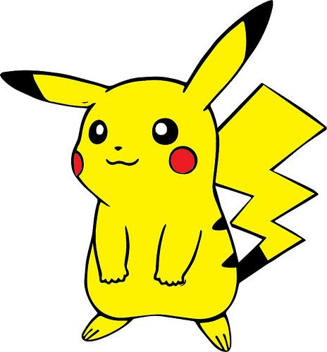 Home the craft chop. Pikachu clipart