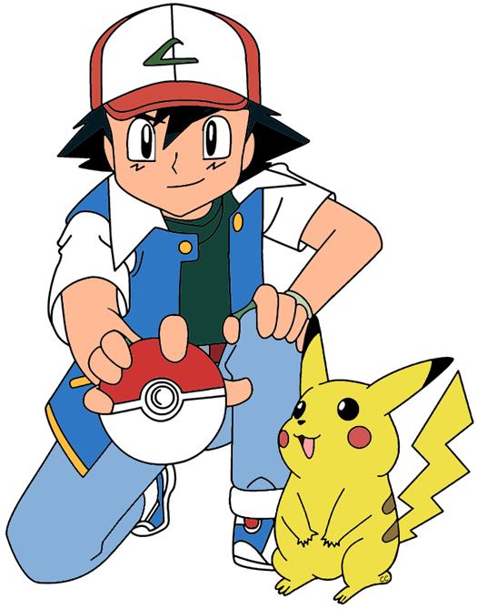 Pokemon clip art cartoon. Pikachu clipart