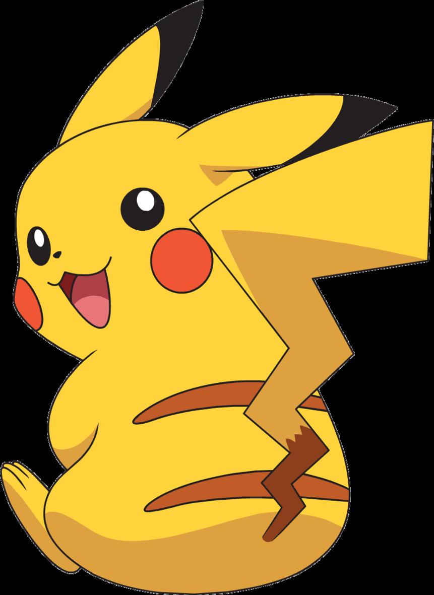 Anime clipart pikachu.  clipartlook