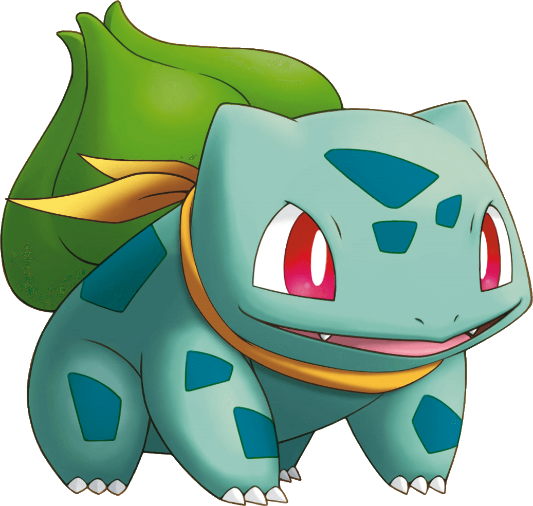 Pokemon png images. Transparent stickpng bulbasaur