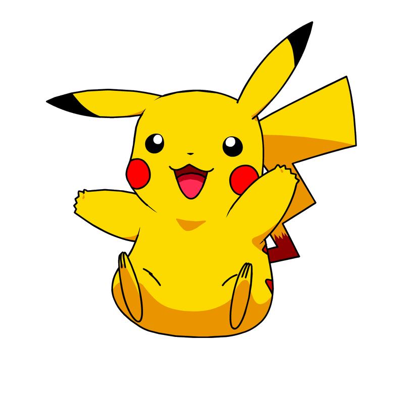 Pikachu clipart clear background, Pikachu clear background ...