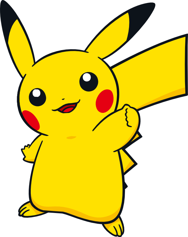 Pikachu clipart coloring sheet. Artwork dream world gotta