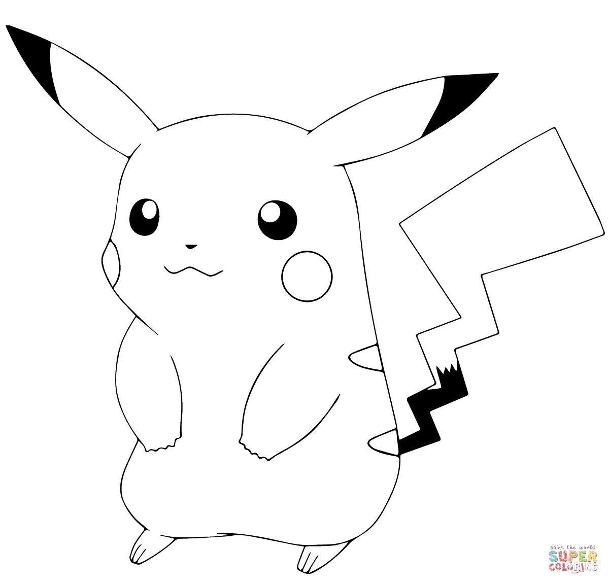 Pikachu clipart colour, Pikachu colour Transparent FREE ...