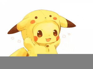 Pokemon free images at. Pikachu clipart cute