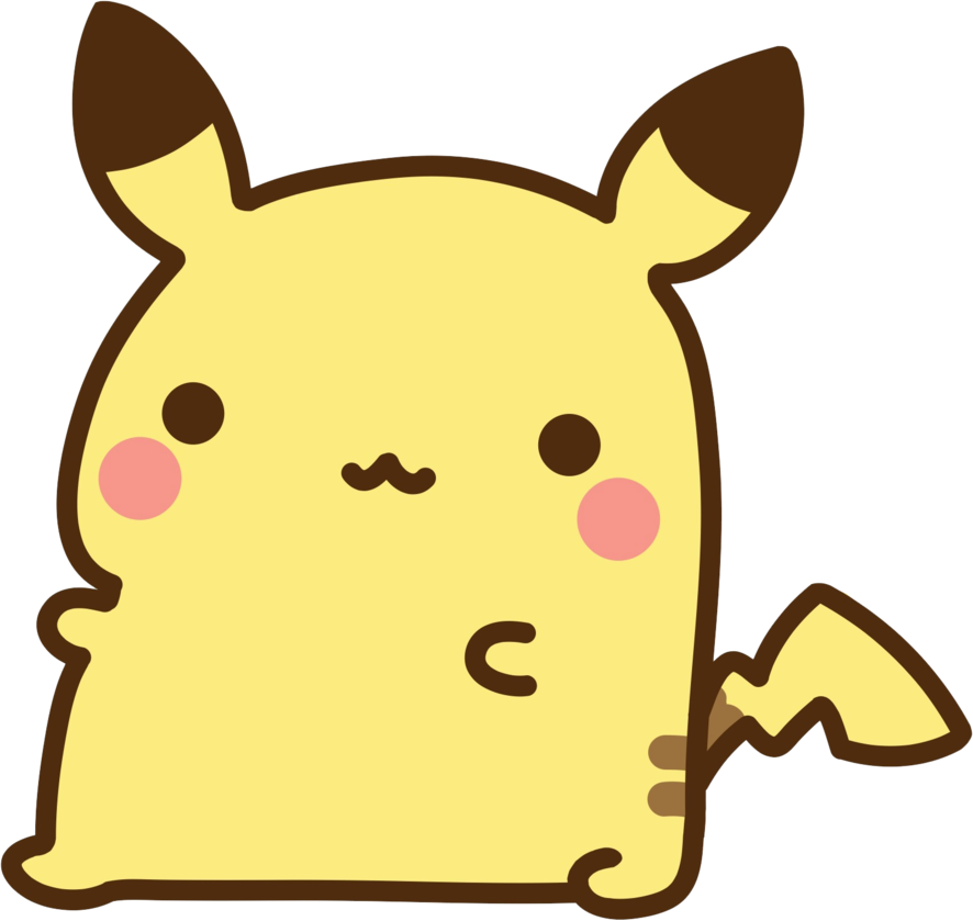 Not mine chibi fabulous. Pikachu clipart cute