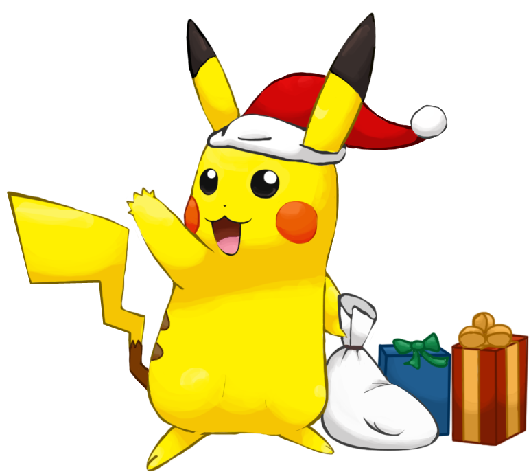 collection of christmas. Pokemon clipart easy