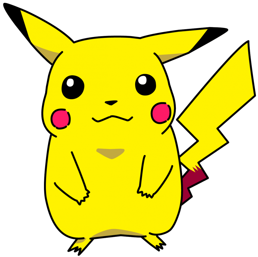 Pokemon png free images. Pikachu clipart file