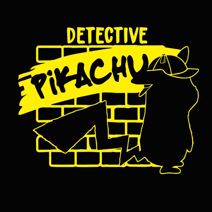 Svg detective pokemon files. Pikachu clipart file