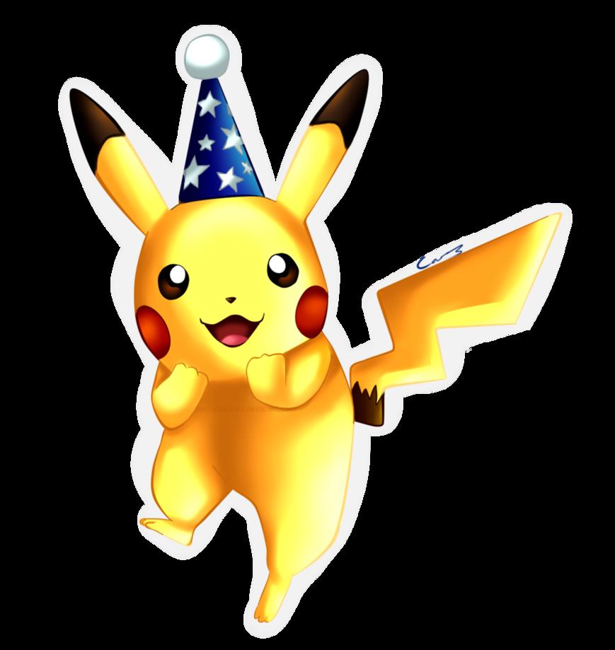 Pikachu clipart graduation. Party by pocketlocketx on
