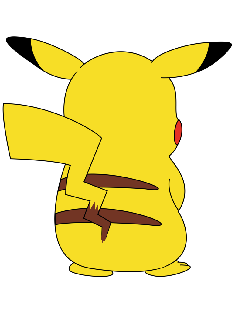 Pikachu graduation. Clipart transparent free for